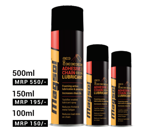 ADHESIVE CHAIN LUBRICANT SPRAY